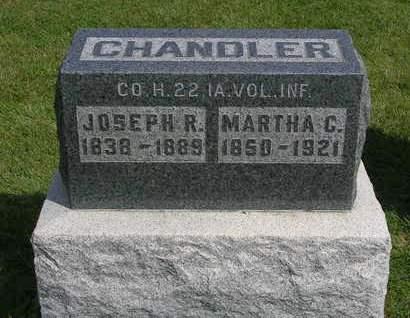 CHANDLER, MARTHA R.