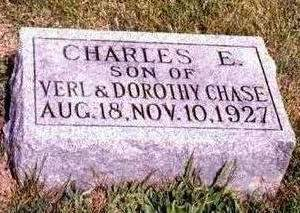 CHASE, CHARLES EDMUND - Madison County, Iowa | CHARLES EDMUND CHASE