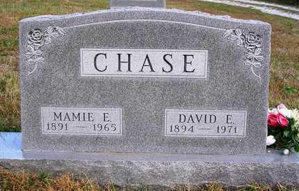 CHASE, MAMIE ELEANOR - Madison County, Iowa | MAMIE ELEANOR CHASE