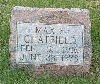 CHATFIELD, MAX HOWELL - Madison County, Iowa | MAX HOWELL CHATFIELD