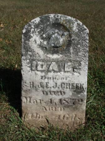 CHEEK, IDA E. - Madison County, Iowa   IDA E. CHEEK