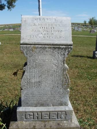 CHEEK, JEREMIAH A. (JERRY) - Madison County, Iowa | JEREMIAH A. (JERRY) CHEEK