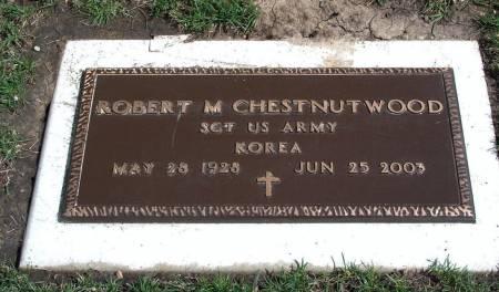 CHESTNUTWOOD, ROBERT MARLIN - Madison County, Iowa | ROBERT MARLIN CHESTNUTWOOD