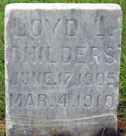 CHILDERS, LOYD L. - Madison County, Iowa | LOYD L. CHILDERS