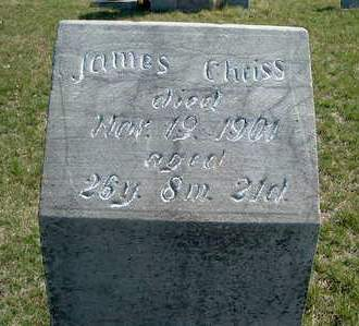 CHRISS, JAMES - Madison County, Iowa | JAMES CHRISS