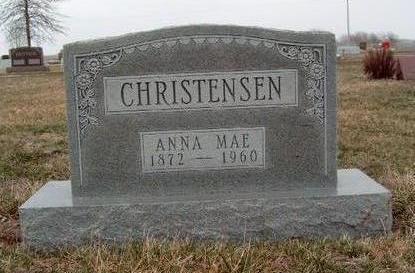 CHRISTENSEN, ANNA MAE - Madison County, Iowa | ANNA MAE CHRISTENSEN
