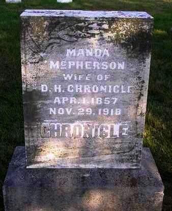 CHRONICLE, AMANDA (MANDA) - Madison County, Iowa | AMANDA (MANDA) CHRONICLE