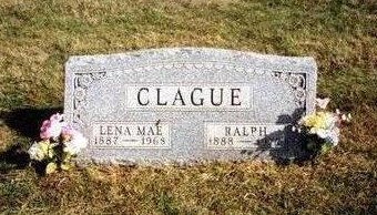 CLAGUE, RALPH - Madison County, Iowa | RALPH CLAGUE