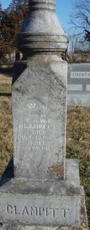 CLAMPITT, WILLIAM J. - Madison County, Iowa | WILLIAM J. CLAMPITT