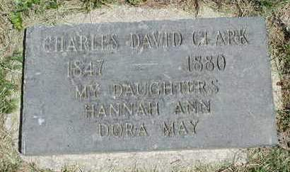 CLARK, DORA MAY - Madison County, Iowa | DORA MAY CLARK