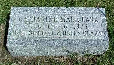 CLARK, CATHERINE MAE - Madison County, Iowa | CATHERINE MAE CLARK
