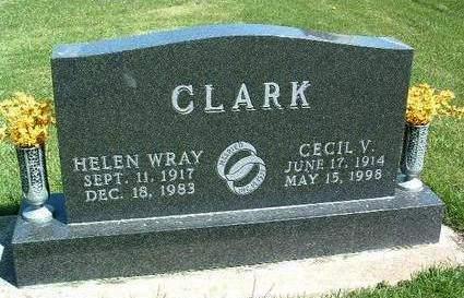 CLARK, HELEN IRENE - Madison County, Iowa | HELEN IRENE CLARK