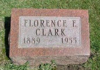 CLARK, FLORENCE E. - Madison County, Iowa | FLORENCE E. CLARK