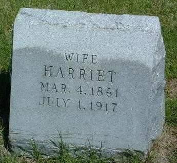 CLARK, HARRIET - Madison County, Iowa | HARRIET CLARK