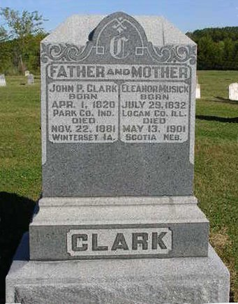 CLARK, ELEANOR - Madison County, Iowa | ELEANOR CLARK