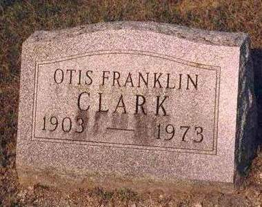 CLARK, OTIS FRANKLIN - Madison County, Iowa | OTIS FRANKLIN CLARK