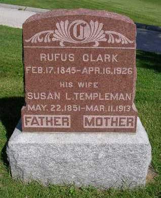 CLARK, SUSAN LOUISA - Madison County, Iowa   SUSAN LOUISA CLARK