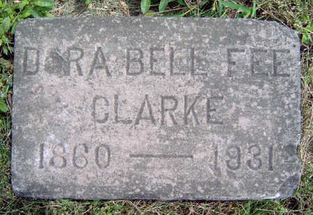 CLARKE, DORA BELLE - Madison County, Iowa | DORA BELLE CLARKE