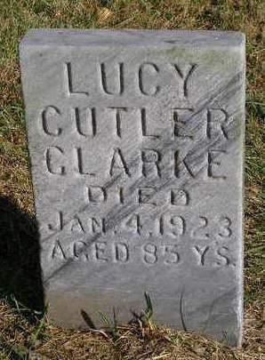 CLARKE, LUCY - Madison County, Iowa | LUCY CLARKE