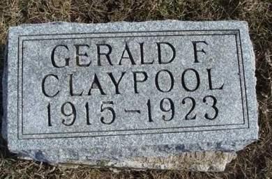 CLAYPOOL, GERALD FLOYD - Madison County, Iowa | GERALD FLOYD CLAYPOOL