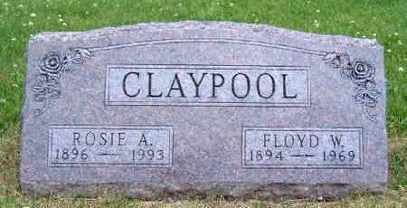 CLAYPOOL, ROSIE A. - Madison County, Iowa | ROSIE A. CLAYPOOL