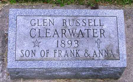CLEARWATER, GLEN RUSSELL - Madison County, Iowa | GLEN RUSSELL CLEARWATER