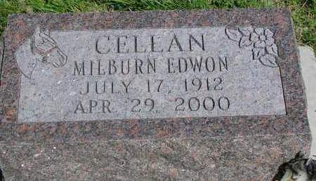 CELLAN, MILBURN EDWIN - Madison County, Iowa | MILBURN EDWIN CELLAN