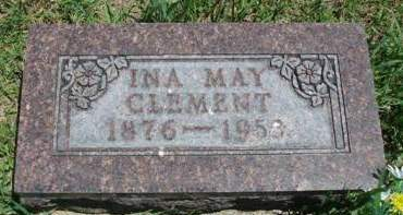 CLEMENT, INA MAY - Madison County, Iowa | INA MAY CLEMENT