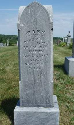 CLEMENTS, MARY - Madison County, Iowa | MARY CLEMENTS