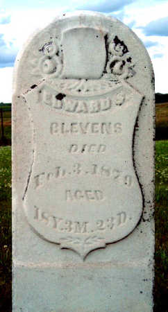 BLEVENS, EDWARD S. - Madison County, Iowa | EDWARD S. BLEVENS