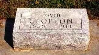 CLOPTON, DAVID WILLIAM - Madison County, Iowa | DAVID WILLIAM CLOPTON