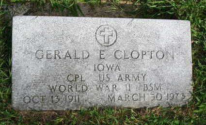 CLOPTON, GERALD E. - Madison County, Iowa | GERALD E. CLOPTON