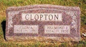 CLOPTON, LELIA ADDA - Madison County, Iowa | LELIA ADDA CLOPTON