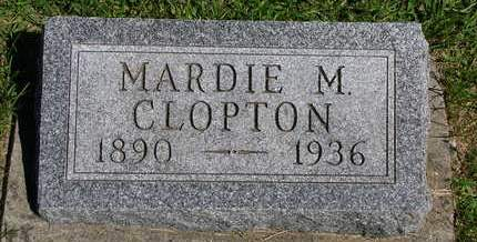 CLOPTON, MARDIS MARIE (MARDIE) - Madison County, Iowa | MARDIS MARIE (MARDIE) CLOPTON