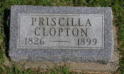 CLOPTON, PRISCILLA - Madison County, Iowa | PRISCILLA CLOPTON