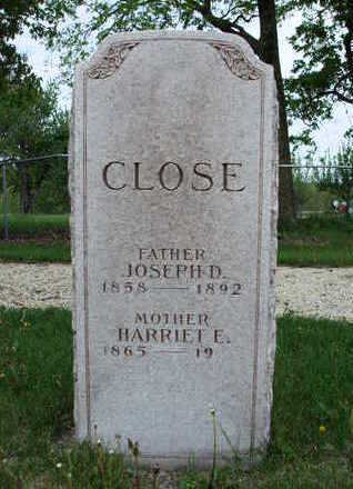 CLOSE, HARRIET ELLEN - Madison County, Iowa | HARRIET ELLEN CLOSE