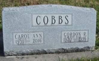 COBBS, CAROL ANN - Madison County, Iowa   CAROL ANN COBBS