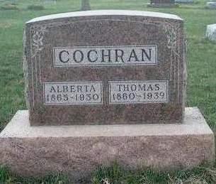 COCHRAN, ALBERTA - Madison County, Iowa | ALBERTA COCHRAN