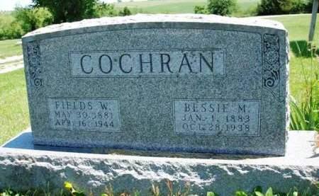 COCHRAN, BESSIE MAUD - Madison County, Iowa | BESSIE MAUD COCHRAN