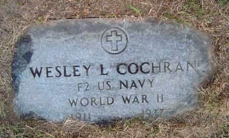 COCHRAN, WESLEY WALLACE LEE, SR. - Madison County, Iowa | WESLEY WALLACE LEE, SR. COCHRAN