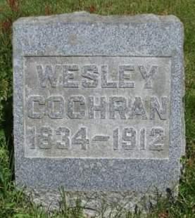 COCHRAN, WESLEY - Madison County, Iowa   WESLEY COCHRAN