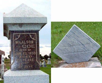 COE, WILLIAM ALSON - Madison County, Iowa   WILLIAM ALSON COE