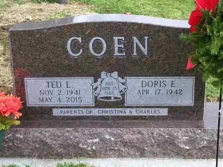 COEN, DORIS EILEEN - Madison County, Iowa | DORIS EILEEN COEN