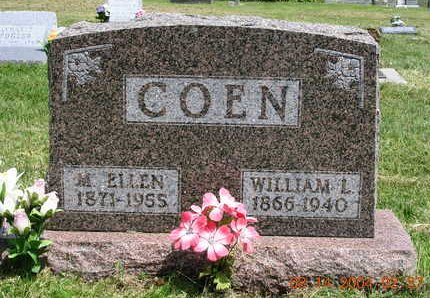 COEN, MARTHA ELLEN - Madison County, Iowa | MARTHA ELLEN COEN