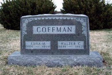 COFFMAN, EDNA MILDRED - Madison County, Iowa | EDNA MILDRED COFFMAN