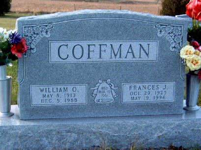 COFFMAN, FRANCES JANE - Madison County, Iowa | FRANCES JANE COFFMAN