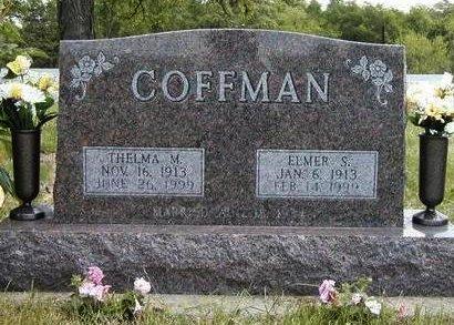 COFFMAN, ELMER SMITH - Madison County, Iowa | ELMER SMITH COFFMAN