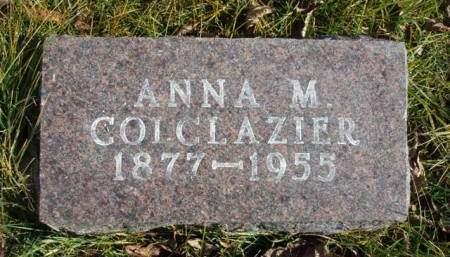 COLCLAZIER, ANNA M. - Madison County, Iowa | ANNA M. COLCLAZIER