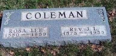 COLEMAN, ROSA LEE - Madison County, Iowa | ROSA LEE COLEMAN