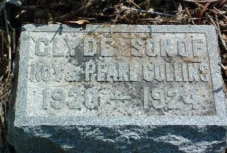 COLLINS, CLYDE ORIN - Madison County, Iowa   CLYDE ORIN COLLINS